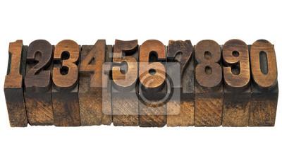 Zahlen im antiken Buchdruck