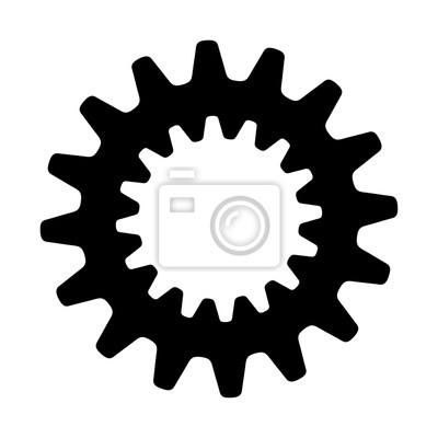 Zahnrad vektor symbol fototapete fototapeten glyphen zahnradbahn fototapete zahnrad vektor symbol thecheapjerseys Image collections