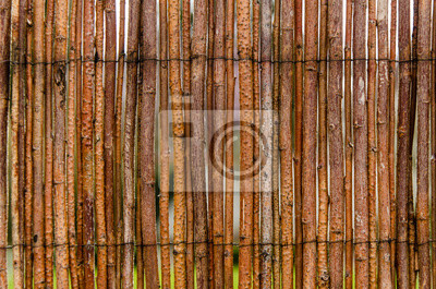 Zaun Aus Holz Fototapete Fototapeten Nebeneinander Gebundene