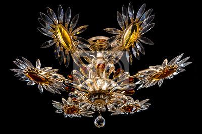 Kristalle Für Kronleuchter ~ Kristalle für kronleuchter » zeitgenössische gold kronleuchter auf