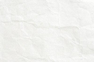 Fototapete Zerknittertes weißes Papier