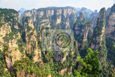 Zhangjiajie - point de vue