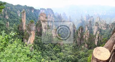 Zhangjiajie, point de vue
