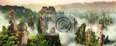 Fototapete Zhangjiajie Wulingyuan