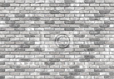 Ziegelmauer textur oder hintergrund, grau fototapete • fototapeten ...