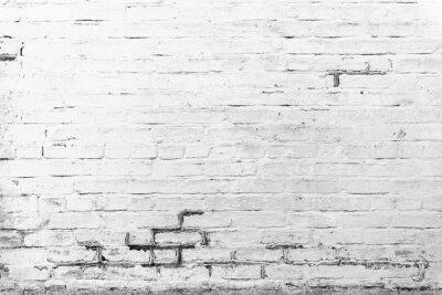 Fototapete Ziegelsteinbeschaffenheit mit Kratzern und Sprüngen