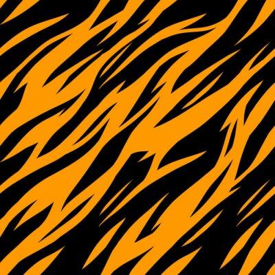 Fototapete Zusammenfassung drucken Tier gestreiften nahtlose Muster