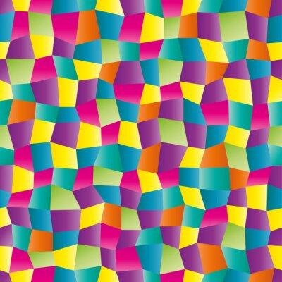 Fototapete Zusammenfassung Farbe geometrische Muster