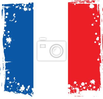 Zusammenfassung Frankreich Flagge Französisch Farben Vektor