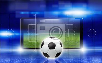 Zusammenfassung Fußball-Collage