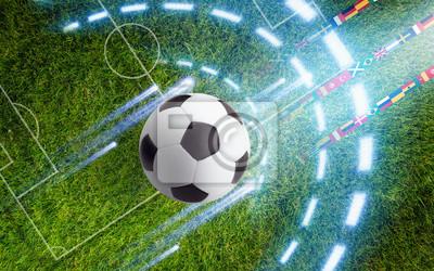 Zusammenfassung Fußball Hintergrund