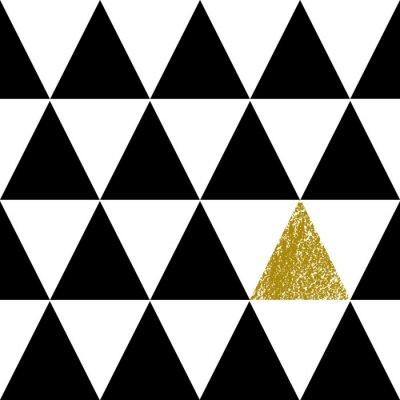 Fototapete Zusammenfassung Geometrische Muster