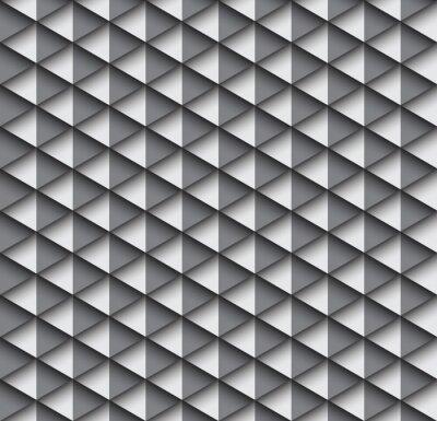 Zusammenfassung Geometrischen Dreieck Nahtlose Muster Hintergrund