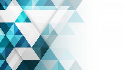 Fototapete Zusammenfassung geometrischen Vektor Hintergrund.