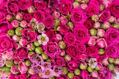 Fototapete Zusammenfassung Hintergrund der Blumen.