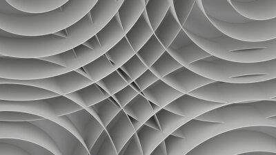 Fototapete Zusammenfassung Hintergrund mit Spiralen, 3 d rendern