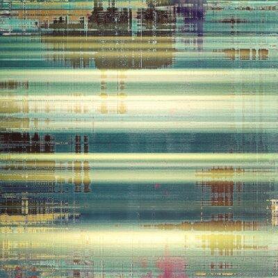 Fototapete Zusammenfassung Hintergrund oder Textur. Mit verschiedenen Farbmustern: gelb (beige); braun; Weiß; blau; Grün