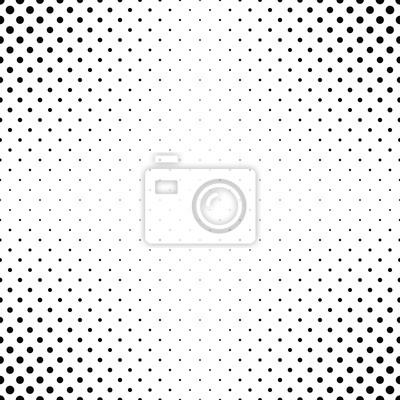 Zusammenfassung Monochrome Punkt Muster Hintergrund Fototapete