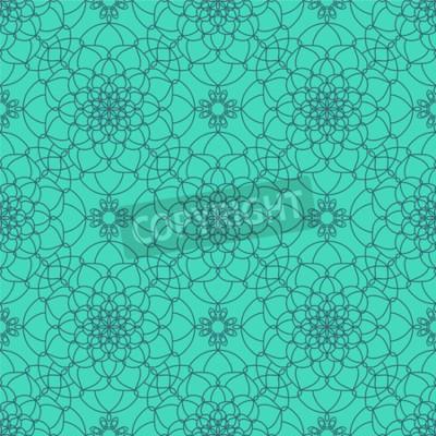 Fototapete Zusammenfassung Nahtlose Muster. Ethnische dekorative Elemente für Druck und Stoff, Stoffe und Leinwand Textur oder jede andere Art von Design.