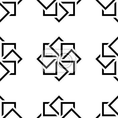 Zusammenfassung nahtlose muster. geometrische form dreieck mosaik ...