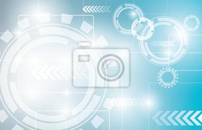 Zusammenfassung Technologie Hintergrund Design.