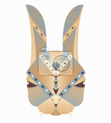 Zusammenfassung Tier, Symbol, drucken, Karte, Logo. Isoliert auf weißem Hintergrund
