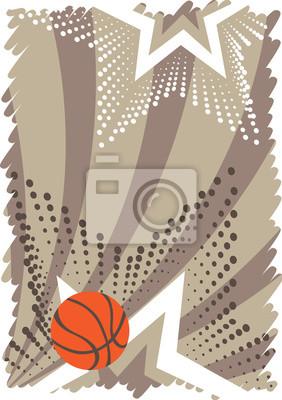 Zusammenfassung vertikale Basketball-Banner