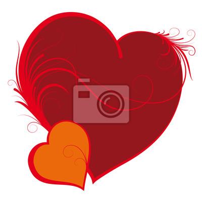 zwei Herzen, Valentinstag