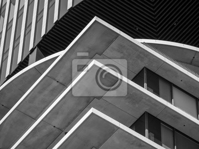 Poster Abstract background architecture lines. modern architecture detail
