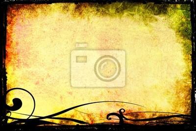 Abstract Grunge hintergrund Frame