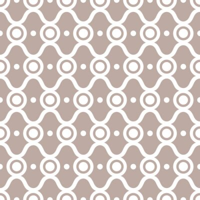 Poster abstract seamless pattern