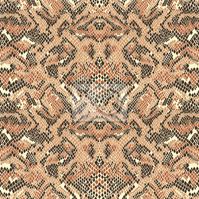 Abstract  snake skin vector  seamless pattern