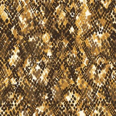 Abstract snake skin wallpaper  vector print seamless pattern