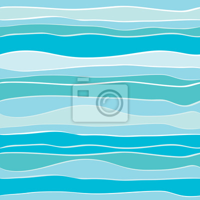 Poster Abstract vector wave background