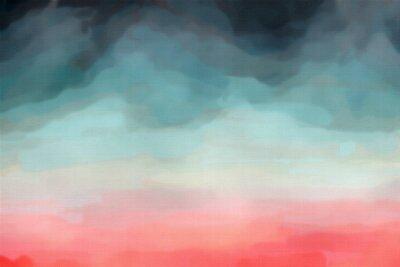 Poster Abstrakt Aquarell Textur