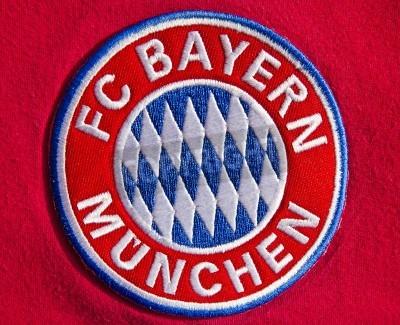 Poster Abzeichen der deutschen Fußballverein FC Bayern München