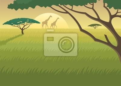 Afrika Landschaft