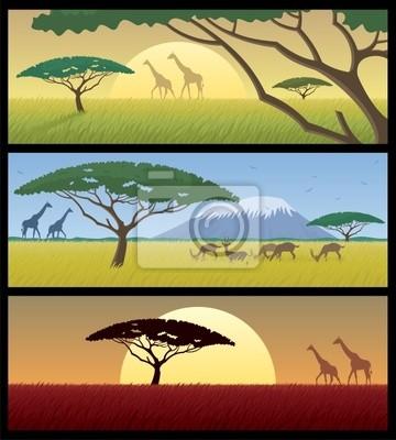 Afrika Landschaften