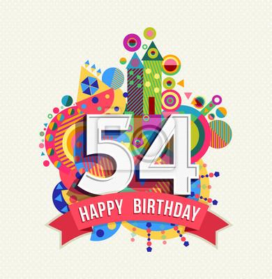 54 jahre