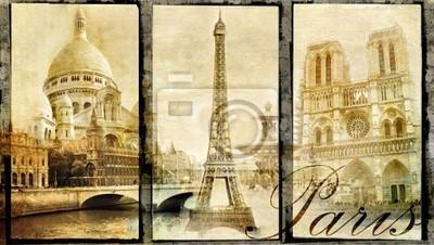 alt Paris - Vintage Collage