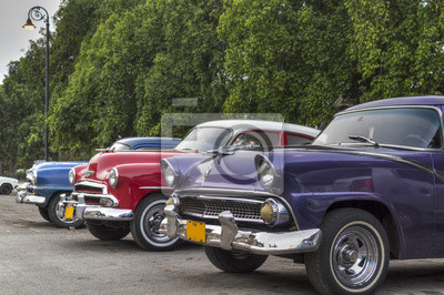 Alte amerikanische Autos in Havanna, Kuba