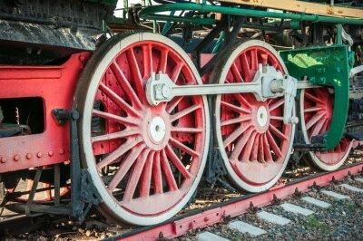 Poster alte Dampflokomotiven des 20. Jahrhunderts