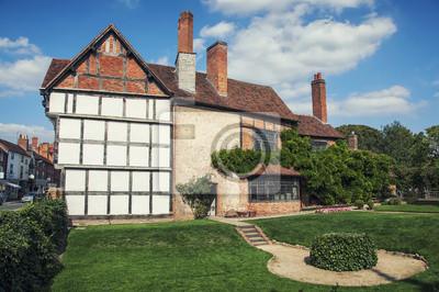 Alte Gebäude der Stratford-upon-Avon, Großbritannien