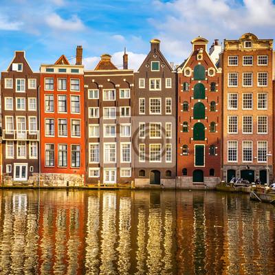 Alte Gebäude in Amsterdam