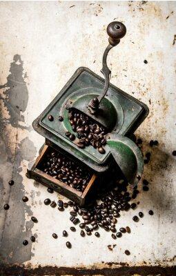 Poster Alte Kaffeemühle