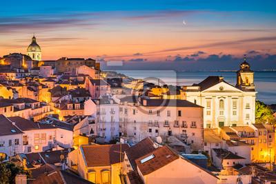 Alte Stadt von Lissabon, Portugal