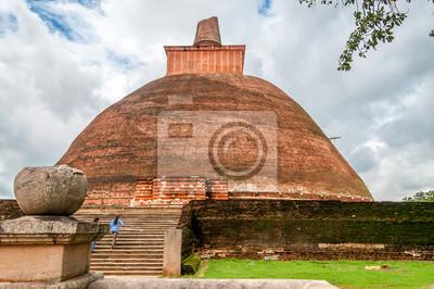 Alte Stupa in Anuradhapura