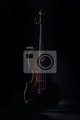Alte Violine im Schatten