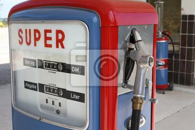 Retro Kühlschrank Zapfsäule : Alte zapfsäule wandposter u2022 poster rüssel zapfsäule diesel