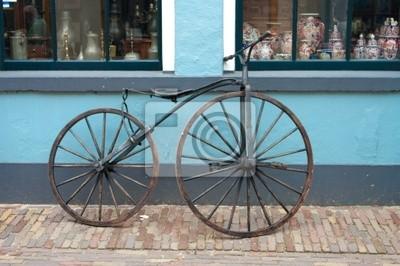 alten 19. Jahrhundert Fahrrad